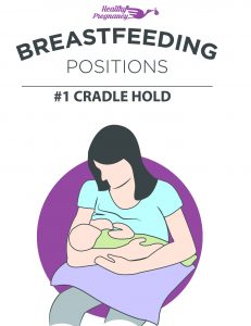 Helpful Breastfeeding Positions and Tips for New Moms - #1 The Cradle Hold