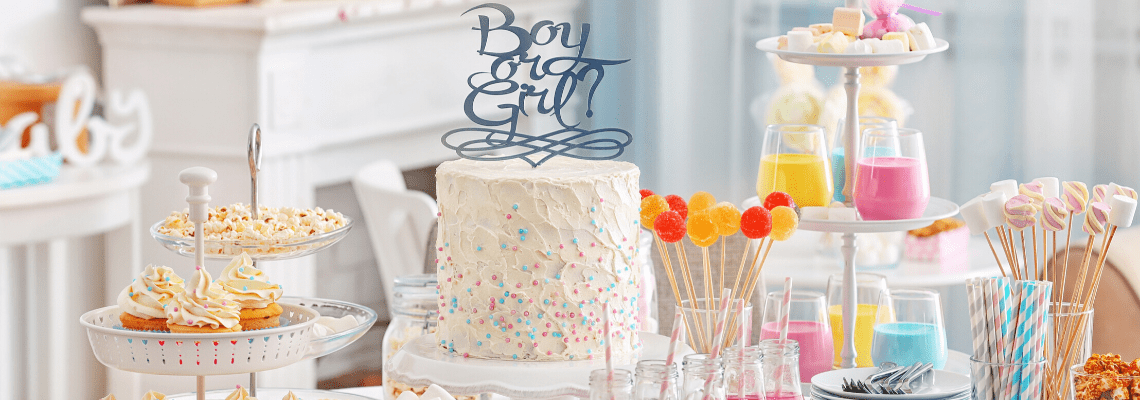 Ideas for Creating the Ultimate Gender Reveal Cake